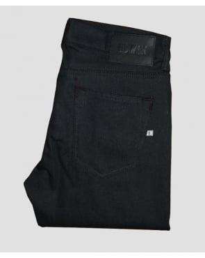 Edwin Ed80 Jeans Cs Carbon Black Denim Black