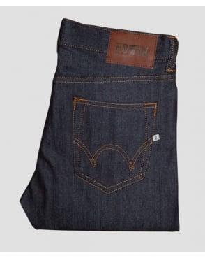 Edwin Jeans Edwin Ed80 Slim Tapered Compact Indigo Denim Navy
