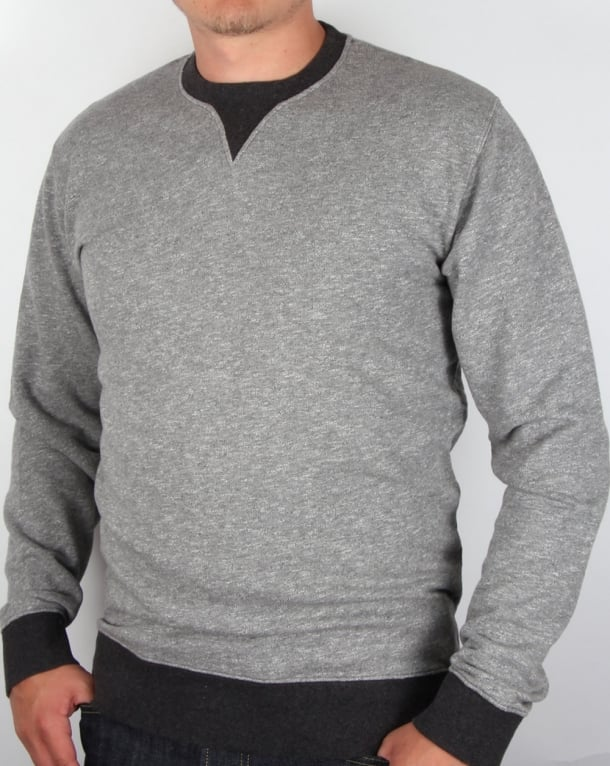 Edwin Jeans Edwin International Jaspe Sweatshirt Grey
