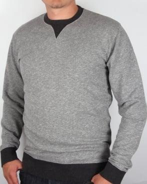 Edwin Jeans Edwin International Jaspe Sweatshirt Grey