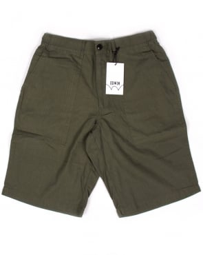Edwin Jeans Edwin Labour Shorts Military Green