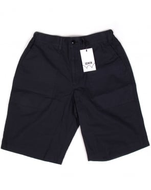 Edwin Labour Shorts Navy