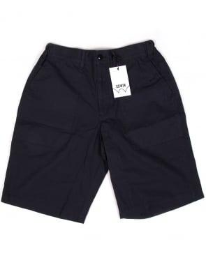 Edwin Jeans Edwin Labour Shorts Navy