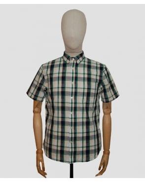 Edwin Jeans Edwin Standard Check Shirt Green/navy