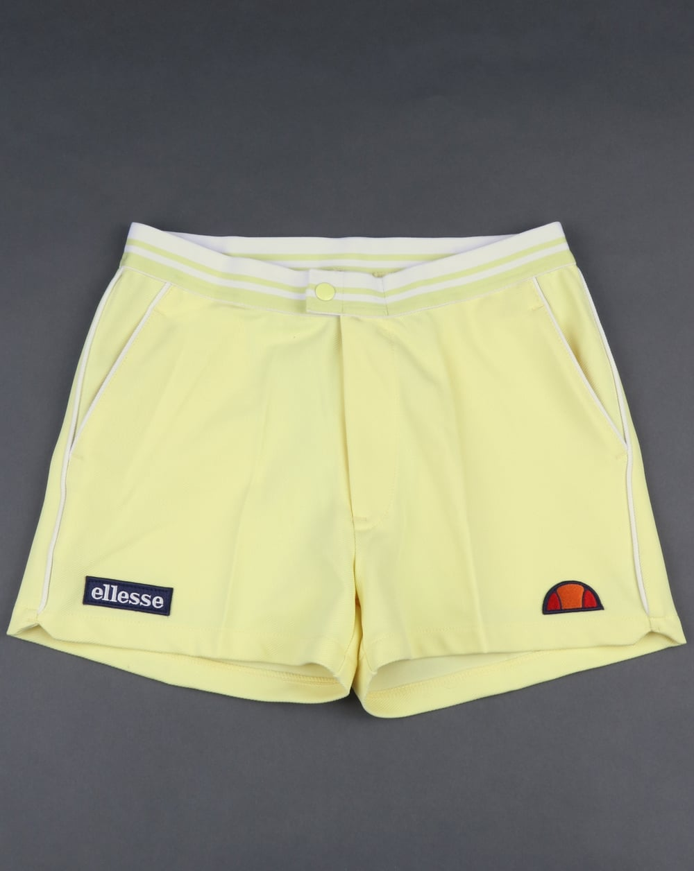 Buy Here Pay Here Ma >> Ellesse 80s Tennis Shorts Yellow, Piping | 80s casual classics