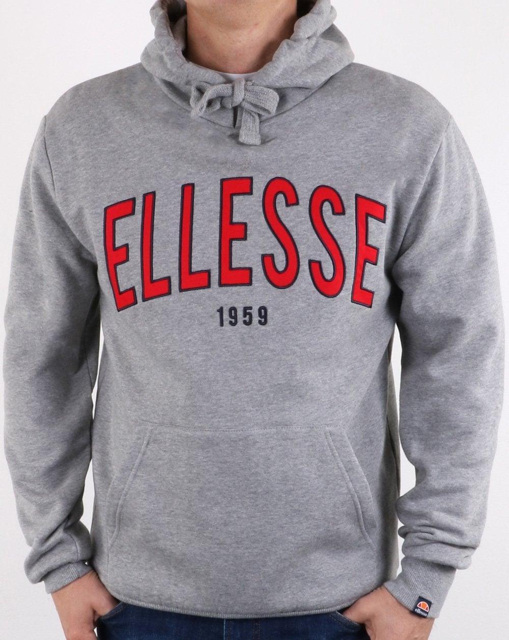 070291b45 Ellesse 90's Outline Hoody Grey, ellesse, casual, hoody