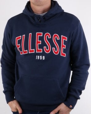 Ellesse 90's Outline Hoody Navy