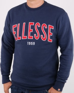 Ellesse 90's Outline Sweat Navy