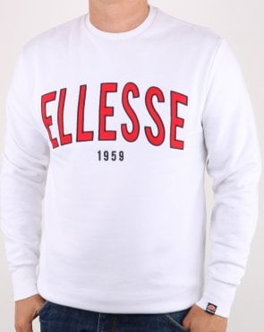 Ellesse 90's Outline Sweat White