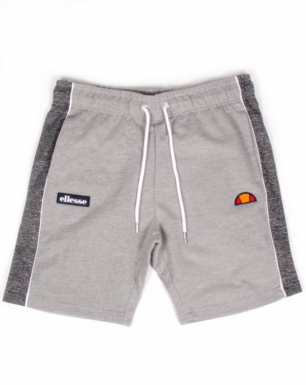 Ellesse Abbiati Fleece Shorts Grey Marl