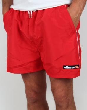 Ellesse Abruz Swim Shorts Red