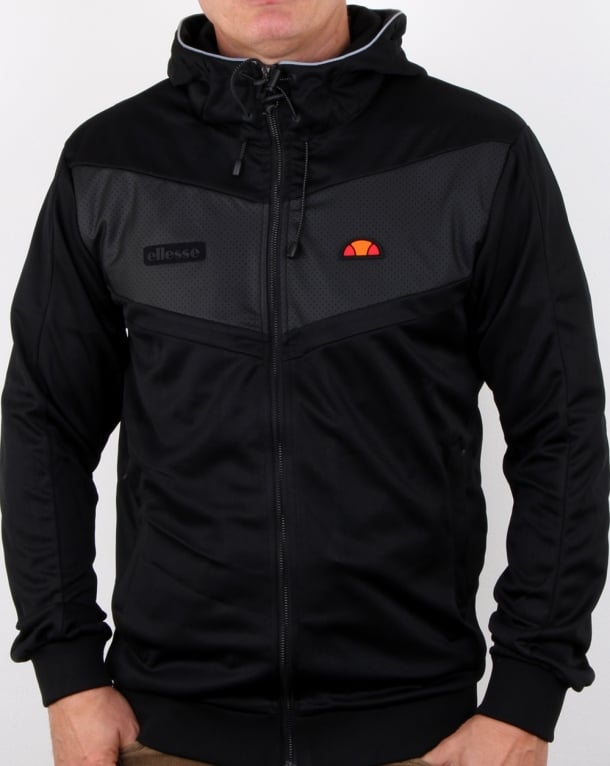Ellesse Addio Reflective Hoody Black