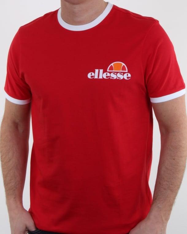 Ellesse Agrigento T Shirt True Red