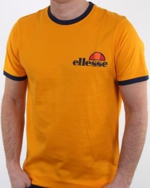 Ellesse Agrigento T Shirt Yellow