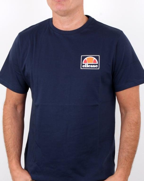 Ellesse Alfio T Shirt Navy