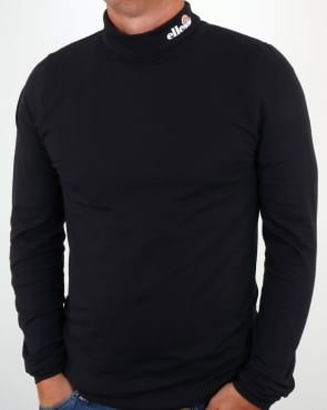 Ellesse Amico Roll Neck Black