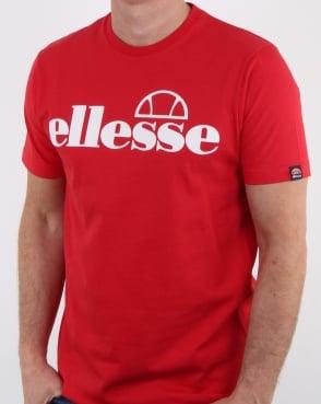 Ellesse Artoni T Shirt Flame Scarlet