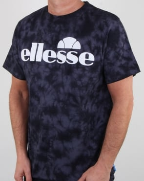 Ellesse Auria Tie Dye T Shirt Indian Ink