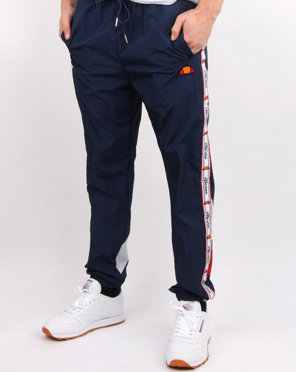 05fc91349abe Ellesse, Avico, Track Pants, Navy, Mens, Tracksuit, Comfort, Taping