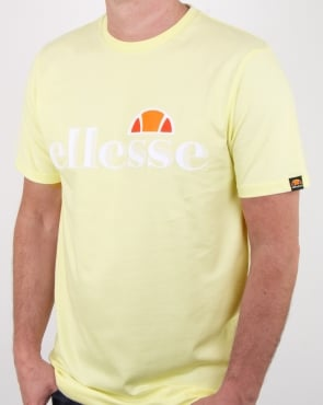 Ellesse Balansat T Shirt Yellow