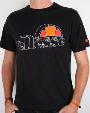 Ellesse Bandini Logo T-shirt Black