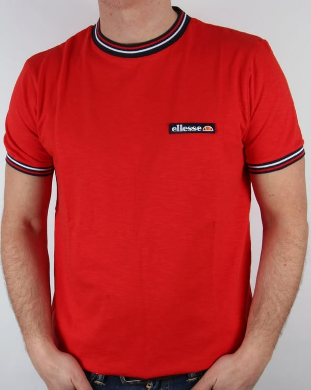 Ellesse Basilicata T-shirt Red