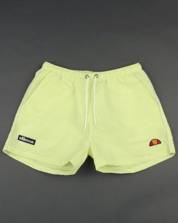 Ellesse Beach Swim Shorts Soft Yellow