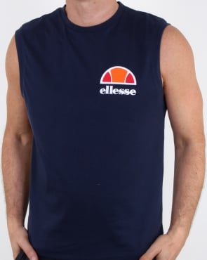Ellesse Beached Vest Navy