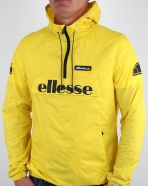 Ellesse Berto Half Zip Jacket Vibrant Yellow