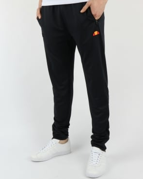 Ellesse Black Run Track Bottoms Black