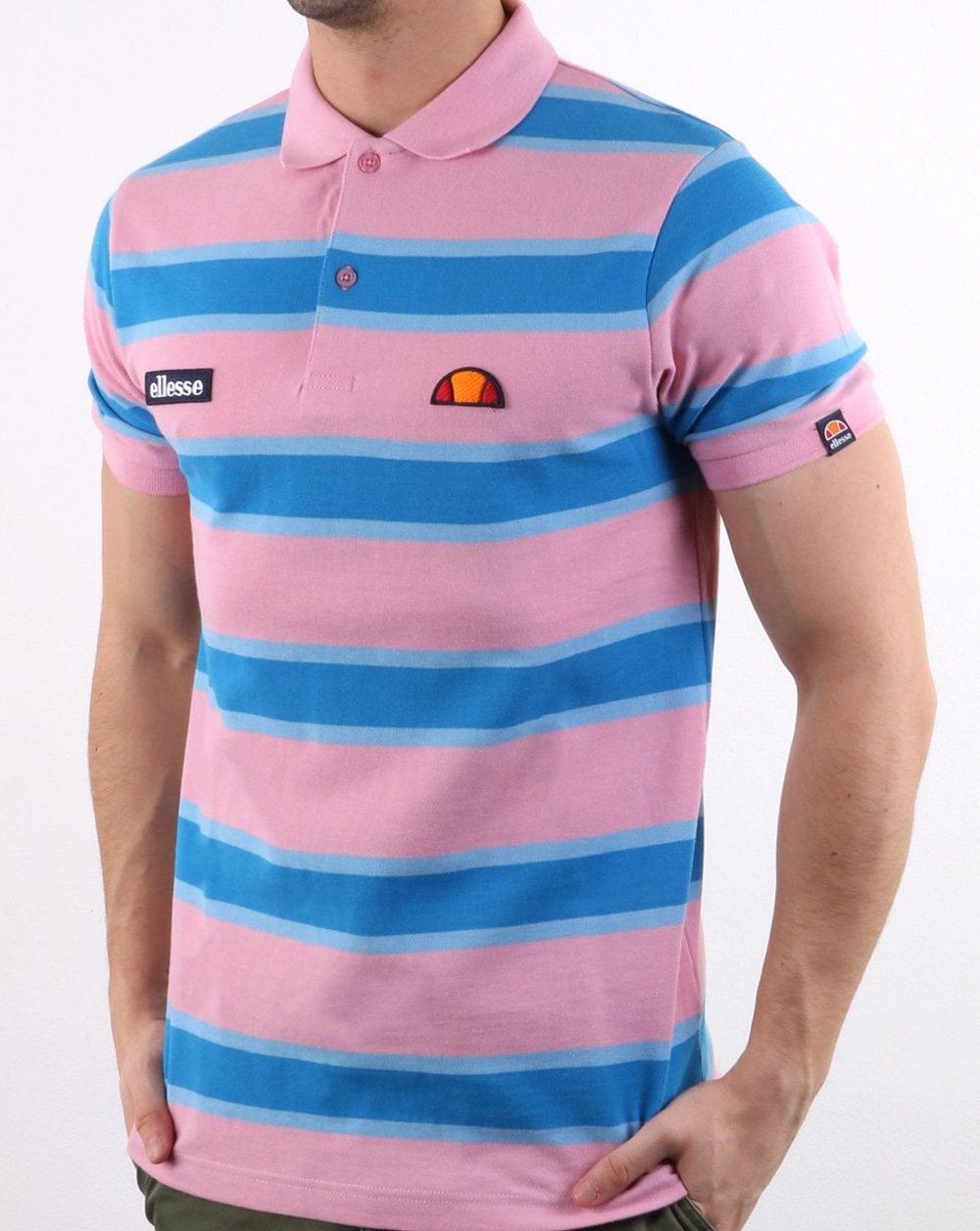 192346861 best lyst polo ralph lauren block stripe polo shirt in blue for men a783e  245a9  best price ellesse ellesse block stripe polo shirt pink blue fdf8e  5812e