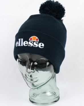 Ellesse Bobble Beanie Hat Navy