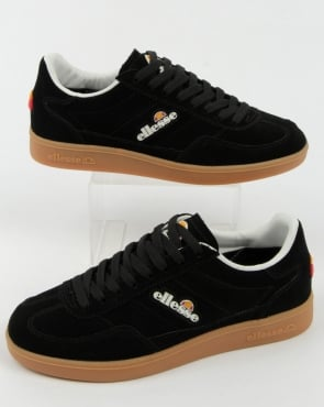 Ellesse Calcio Trainers Black/gum