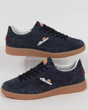 Ellesse Calcio Trainers Navy/Gum