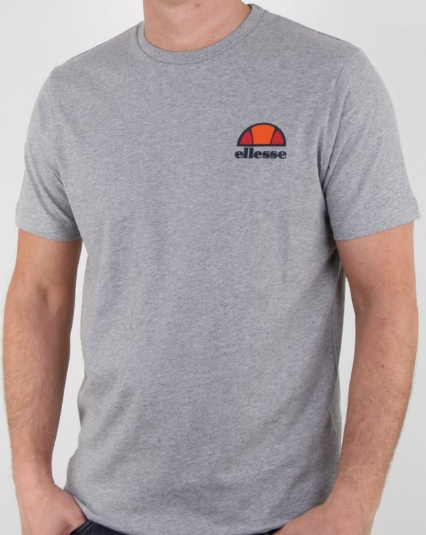 Ellesse Canaletto T Shirt Athletic Grey