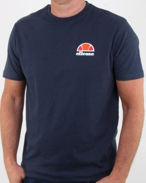 Ellesse Canaletto T Shirt Navy