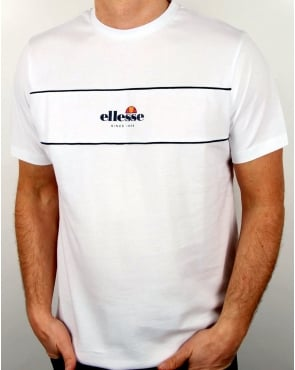 Ellesse Cannavaro T Shirt White