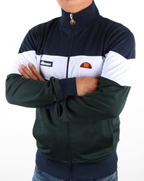 Ellesse Caprini Track Top Navy/white/darkest Spruce
