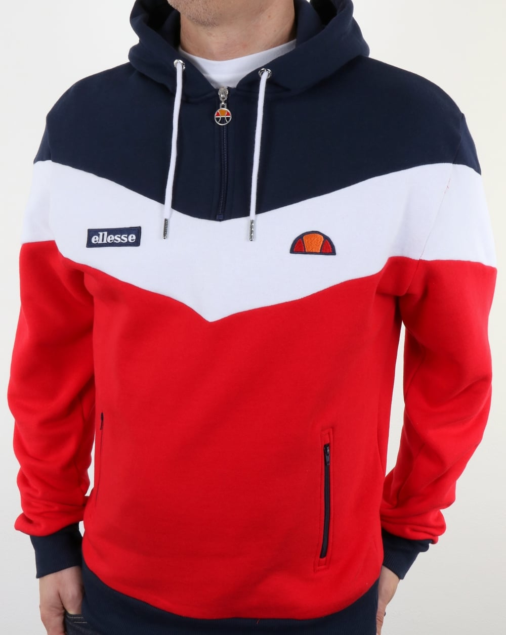 2e9a96a2eb Ellesse Caserta Hoody Red/White/Navy