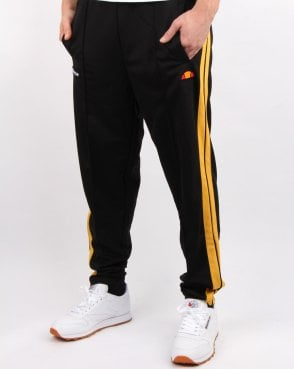 Ellesse Cassed Track Pant Black/yellow