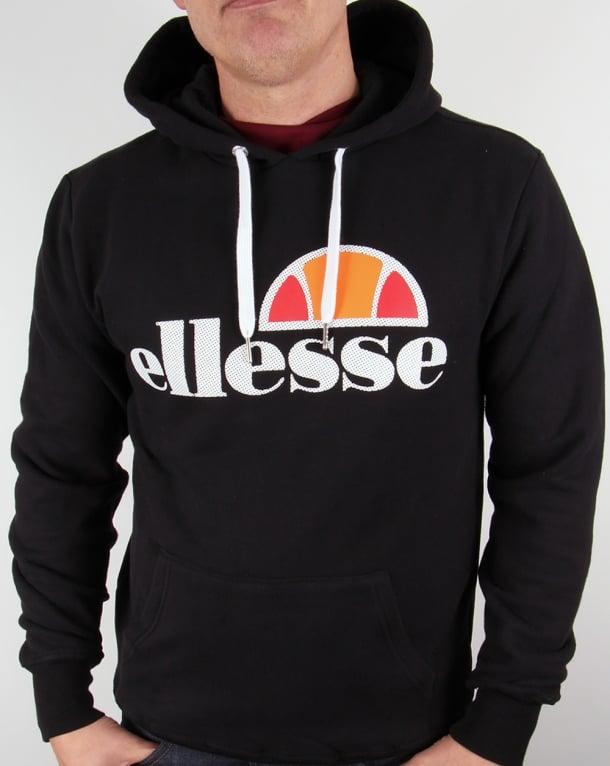 Ellesse Castello Overhead Logo Hoody Black