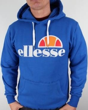 Ellesse Castello Overhead Logo Hoody Turkish Sea