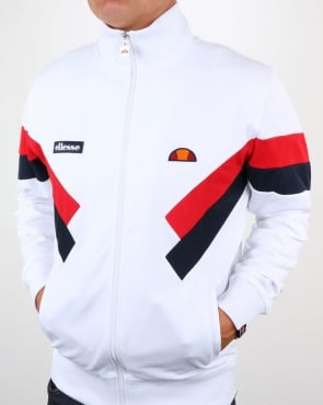 Ellesse Chierroni Track Top White
