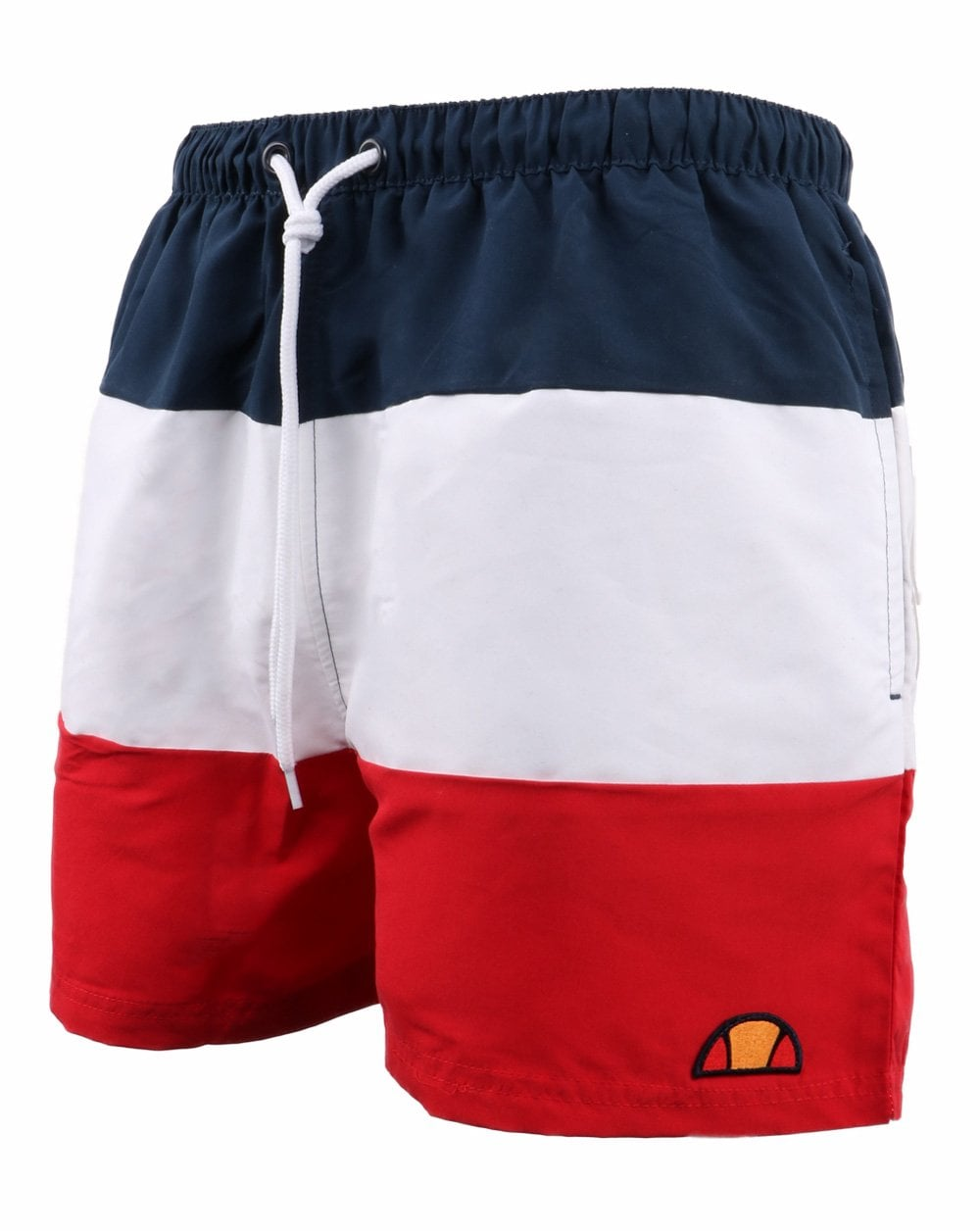 4601a6b91d Ellesse Cielo Swim Shorts in Red White and Navy / 80s Casual Classics