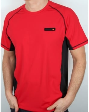 Ellesse Cimone T Shirts Red