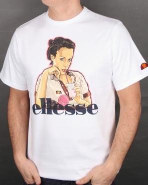 Ellesse Cinzia T Shirt White