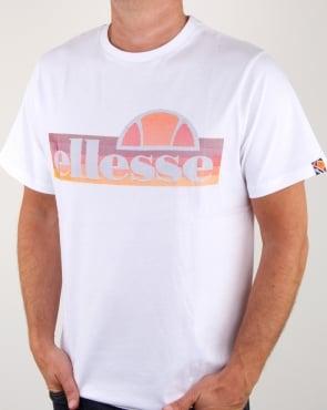 Ellesse Citilia T Shirt White