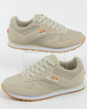 Ellesse City Runner Trainers Off White/gum