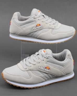 Ellesse City Runner Trainers Soft Grey/gum