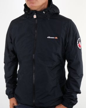 Ellesse Coated Shell Jacket Black